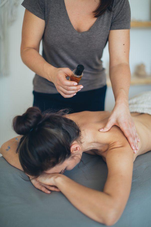 Massage på arbetsplats